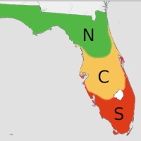 Florida Fruit-Growing Zones